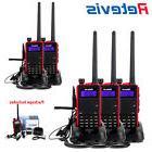 5X Retevis RT5 Walkie Talkie Dual Band FM Transceiver UHF/