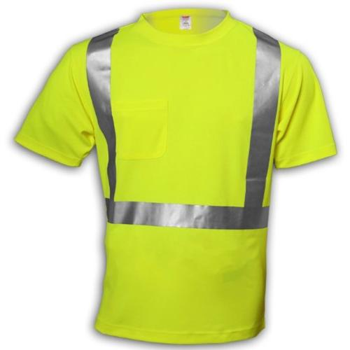 Tingley Rubber S75022 Class 2 T-Shirt with Pocket, Large,
