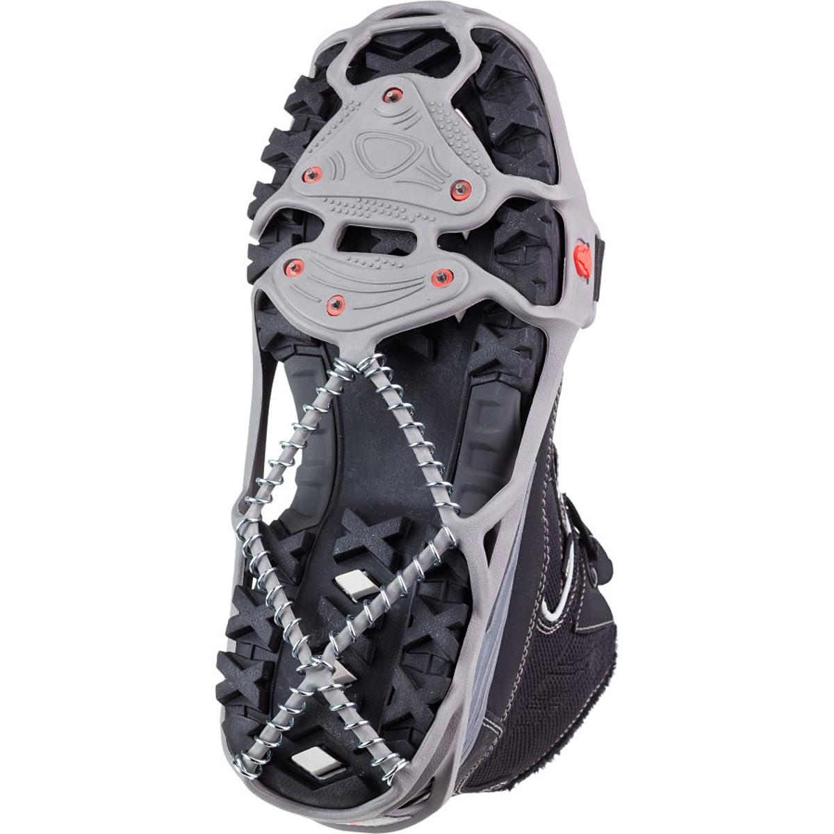 YAKTRAX Run Shoe Crampon Gray/Red, S