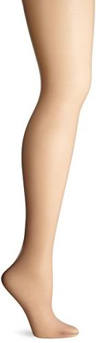 Just My Size Women's Run Resistant Control Top Panty Hose,
