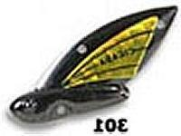Reef Runner Cicada Lure, 1/16-Ounce, Black/Chartreuse