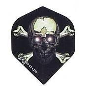 Ruthless Skull and Crossbones 1729 Double Thick Standard