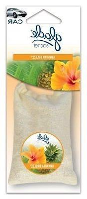 Glade Sachet Hanging Car and Home Air Freshener, Hawaiian