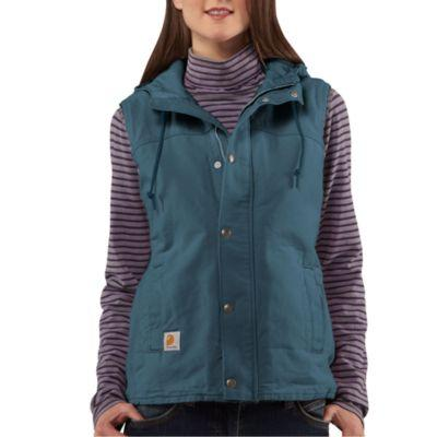 Carhartt Women's Sandstone Berkley Vest II,Light Orchid  ,