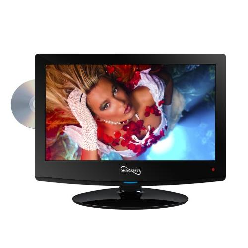 "Supersonic SC-1512 15"" Class LED HDTV with Built-in DVD"