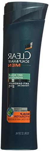 Clear Scalp and Hair Men Shampoo and Conditioner, Dry Scalp