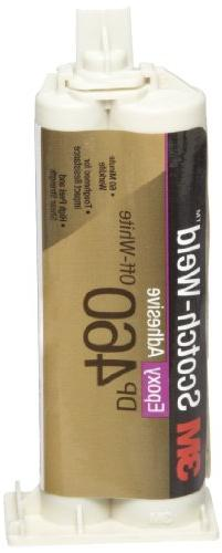 3M Scotch-Weld Epoxy Adhesive DP460 Off-White, 1.25 fl oz