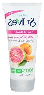 St Ives Scrub Even & Bright 6 Ounce Pink Lemon-Orange