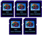 2GB SD Flash Memory Cards - 5 Pack for Digital Cameras/Trail