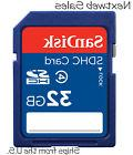 Sandisk 32GB 32 GB SDHC Class 4 Flash Memory Card SD Secure