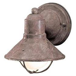 Seaside Outdoor Wall Lantern in Olde Brick