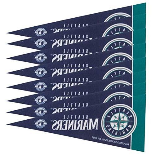Seattle Mariners Mini Pennants - 8 Piece Set