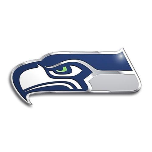 Seattle Seahawks Color Auto Emblem - Die Cut