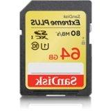 SanDisk Extreme 64 GB Secure Digital Extended Capacity