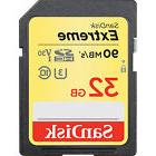SanDisk 32GB Extreme Secure Digital SDHC UHS-3 Memory Card