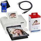 Canon Selphy CP1200 Wireless Color Photo Printer + Ink &