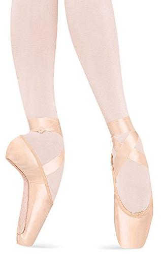 Bloch Women's Serenade Pointe Pink Ballet Flats 2 C