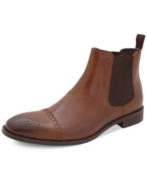 Vince Camuto Sergio Cap-Toe Chelsea Boots Men's Shoes