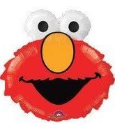 Sesame Street Elmo Head Supershape Foil Mylar Balloon