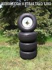 Set Of  NEW Golf Cart Tires & Wheels 18x8.50-8  EZGO, Club