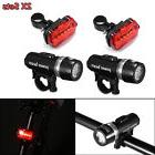 2x Sets 5 LED Lamp Bike Bicycle MTB Front Head Light + Rear