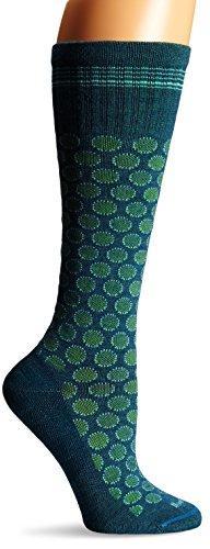 Sockwell Women's Shadow Dot Socks, Teal, Small/Medium