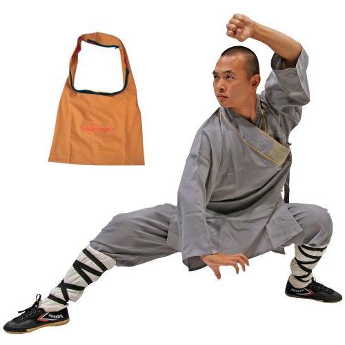 Shaolin Monk Robe - Orange - X-Large