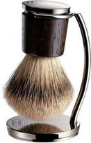 Shaving Brush and Stand-Colorless