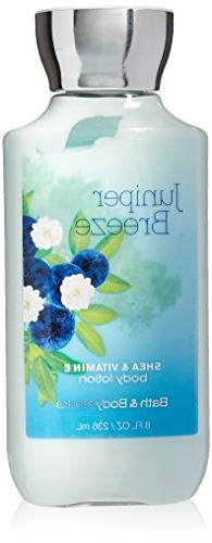 Bath & Body Works Shea & Vitamin E Lotion Juniper Breeze