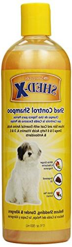 SynergyLabs Shed-X Shed Control Shampoo for Dogs; 17 fl. oz