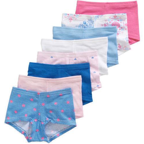 NEW Hanes Girls' Boy Shorts Underwear - 8 pack - Size 10