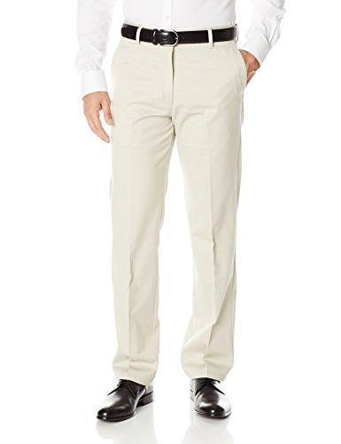 Dockers Men's Signature Khaki  Slim Fit Flat Front Pant,