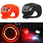 2pcs Silicone Bike Bicycle Cycling Head Front Rear LED Flash