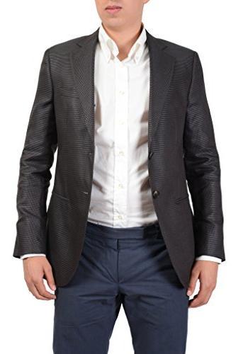 """Giorgio Armani """"Presidential"""" Silk Wool Multi-Color"""