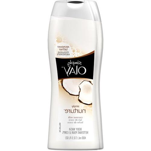 Olay - Simply Olay Nurture Coconut Milk Body Wash 13.5 oz