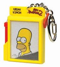 The Simpsons Homer Wooly Willy Keychain