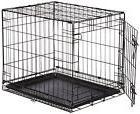 AmazonBasics Single-Door Folding Metal Dog Crate - Small