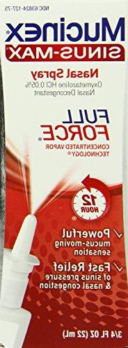 Mucinex Sinus-Max Full Force Nasal Decongestant Spray, 0.75