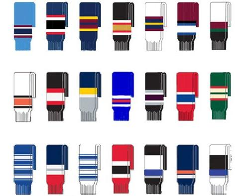 FlexxIce Team Youth Hockey Socks - Edmonton Oilers - 20