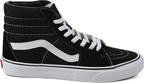 Vans Unisex Sk8-Hi Navy/White Sneaker - 4