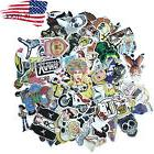 100 Pack Skateboard Stickers Vintage Vinyl Laptop Luggage