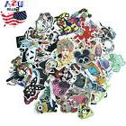 100pcs Skateboard Stickers Vintage Vinyl Laptop Luggage