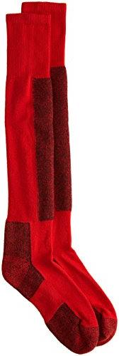 Thorlo Women's Performance Ski Sock-Large-Fire Red, Fire Red