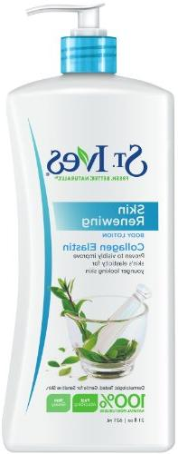 St. Ives Skin Renewing Body Lotion, 21 Ounce