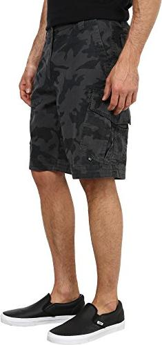 Fox Men's Slambozo Cargo Short Camo, Green Camo, 36