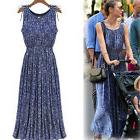 Women Sleeveless Summer Boho Maxi Long Evening Party Beach