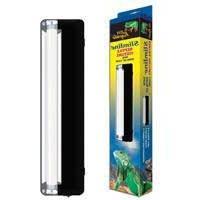 Zilla Slimline Reptile Fluorescent Lighting Fixture with 3-