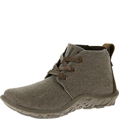 Cushe Boys' Slipper Chukka Boot,Black,EU 35 M