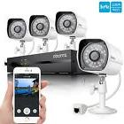 Zmodo Smart PoE 720P HD Security Camera System 4 x 720P