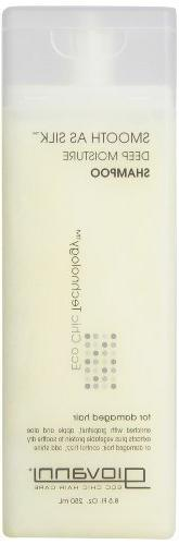 Giovanni Smooth as Silk Shampoo, Packaging May Vary, 8.5-